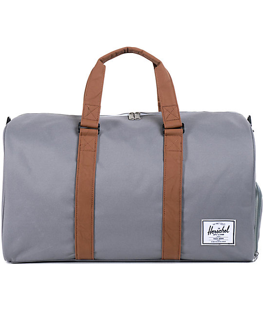 Herschel Supply Co. Novel Grey 42.5L Duffle Bag   Zumiez ac29024c4e