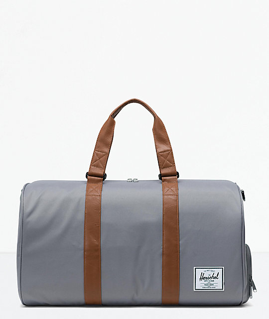 Herschel Supply Co. Novel Grey Duffle Bag