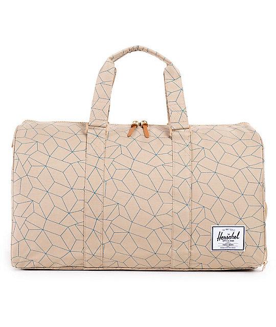 7c6bf353e8 Herschel Supply Co. Novel Khaki Sequence 39L Duffle Bag