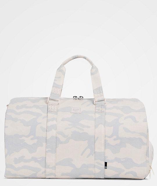 98782256622 Herschel Supply Co. Novel Washed Canvas Camo 42.5L Duffle Bag ...