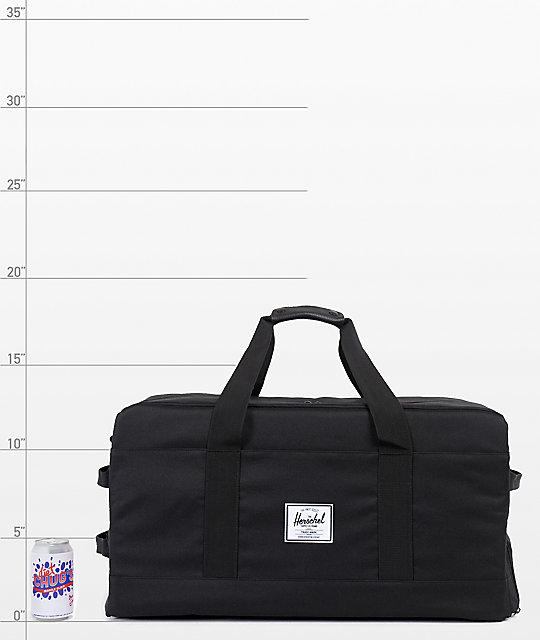 1f64a73b9fe9 Outfitter Black Duffle Bag  Herschel Supply Co. Outfitter Black Duffle Bag