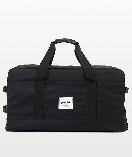 90459a206498 Herschel Supply Co. Outfitter Black Duffle Bag