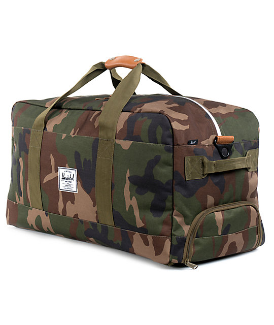 Herschel Supply Co. Outfitter Woodland Camo Duffel Bag  8989c6bca8e