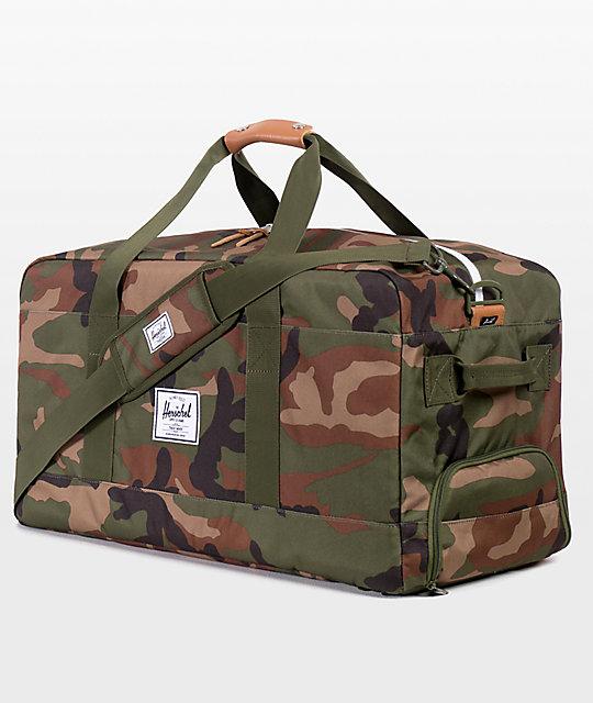 Outfitter Woodland Camo Duffle Bag  Herschel Supply Co. Outfitter Woodland Camo  Duffle Bag ... a58b44fde8708