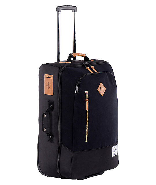 Herschel Supply Co. Parcel Black Roller Bag