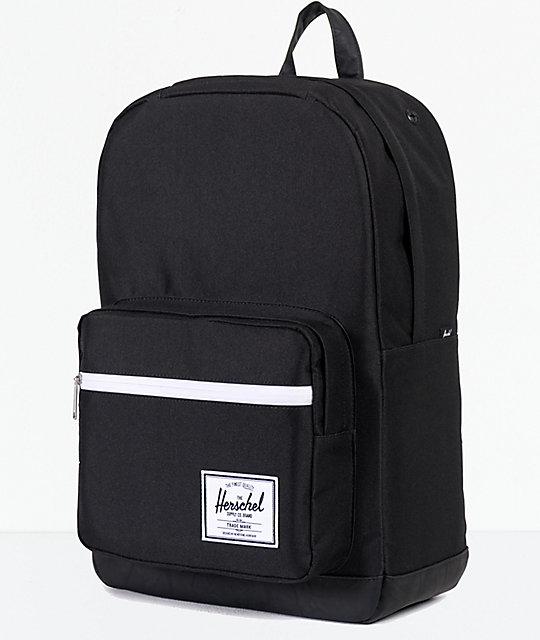8a5a32bb01 Pop Quiz Black   Black 22L Backpack  Herschel Supply Co. Pop Quiz Black    Black 22L Backpack ...