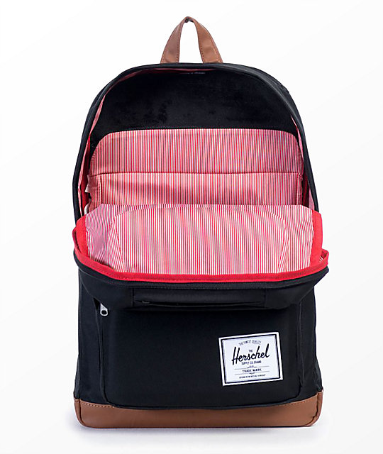 Herschel Supply Co. Pop Quiz Black  & Tan 22L Backpack