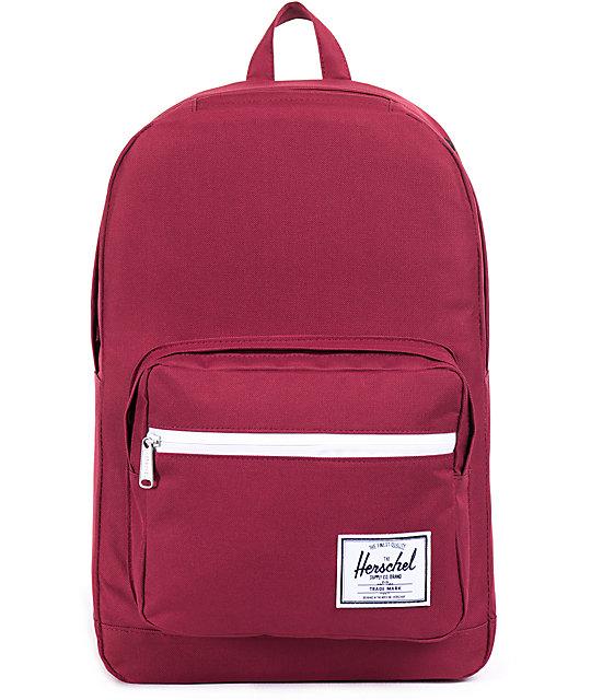 Herschel Supply Co. Pop Quiz Burgundy 20L Laptop Backpack   Zumiez ce8a020ac8