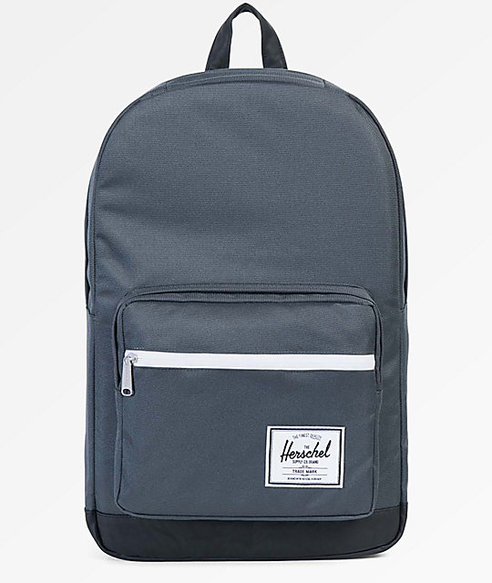 9a29792d891f Herschel Supply Co. Pop Quiz Dark Shadow   Black 22L Backpack ...