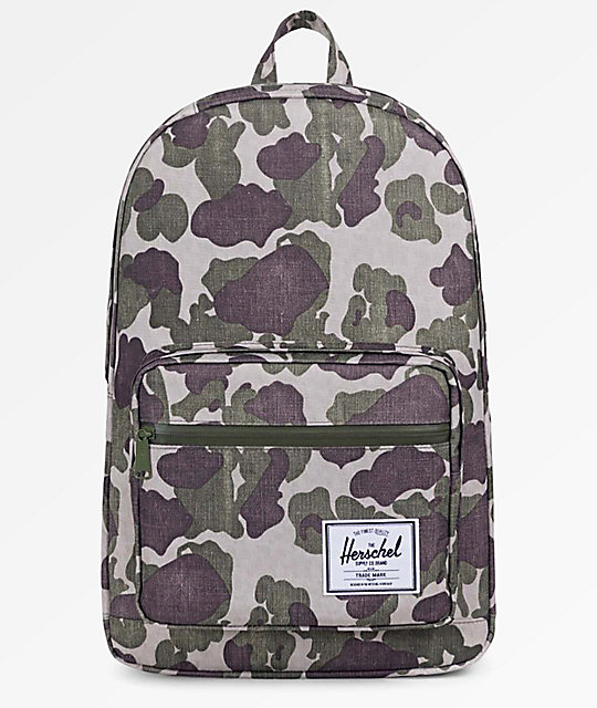 Herschel Supply Co. Pop Quiz Frog Camo 22L Backpack