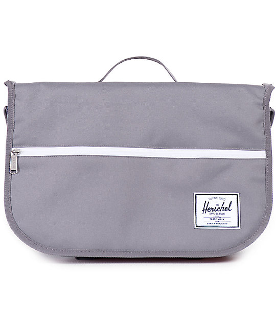 Herschel Supply Co Pop Quiz Grey 12 5l Messenger Bag