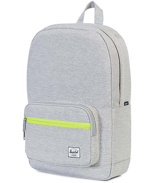 fe4d5c95c6f ... Herschel Supply Co. Pop Quiz Light Grey Crosshatch Mid 15.5L Backpack  ...