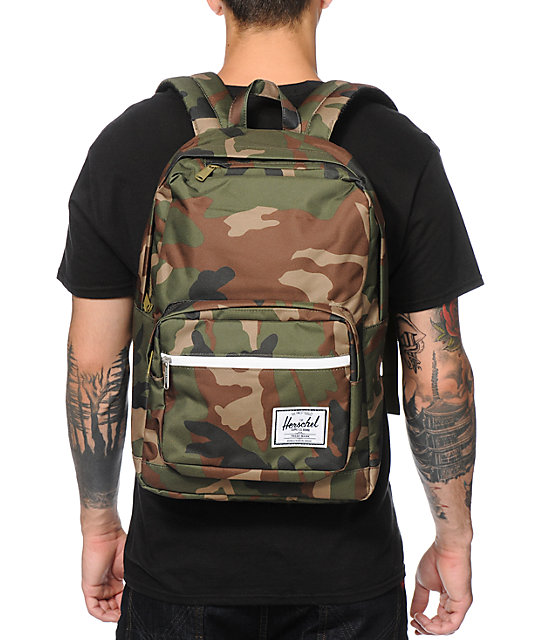 Herschel Supply Co. Pop Quiz Woodland Camo Backpack