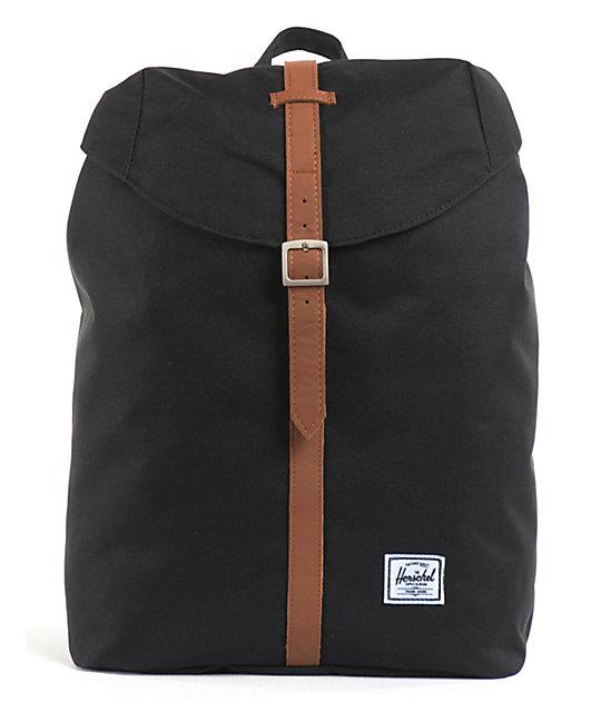 3041d82534c Herschel Supply Co. Post Black Backpack | Zumiez