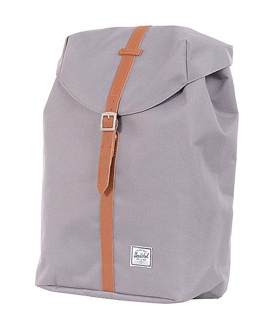 96cf7f49990 Post Grey & Tan Backpack; Herschel Supply Co. Post Grey & Tan Backpack ...