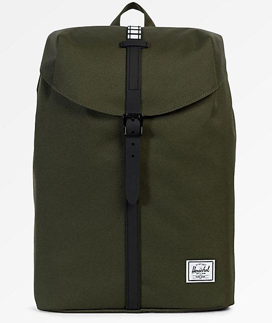 a3b371de211 Herschel Supply Co. Post Mid Forest Night & Black 16L Backpack | Zumiez.ca