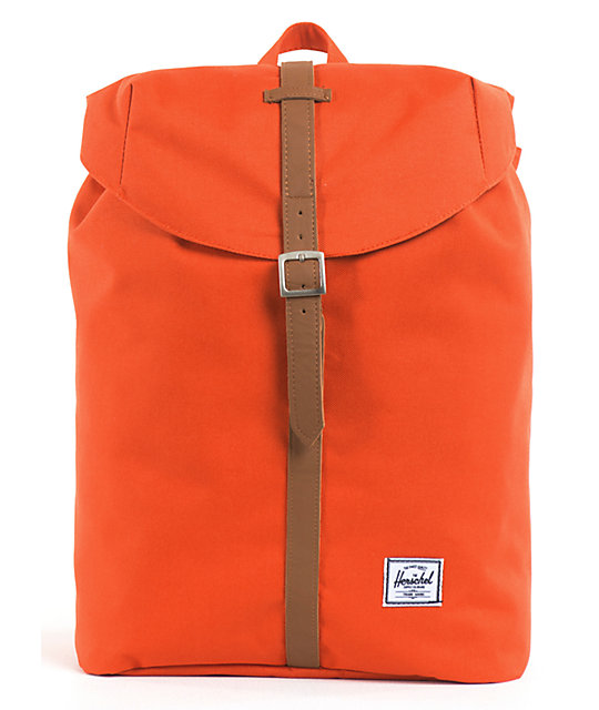 7e12bc03a1b Herschel Supply Co. Post Orange Backpack