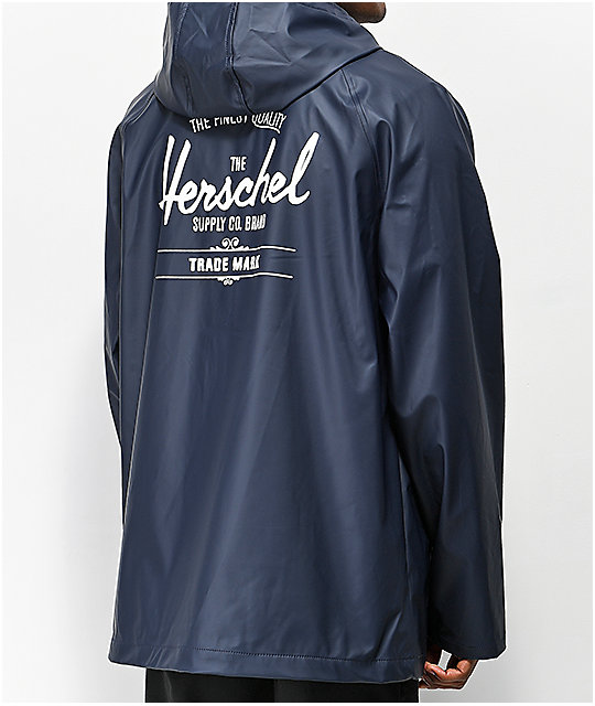 Herschel Supply Co. Rainwear Classic Navy Jacket