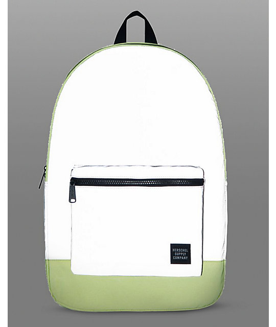 Herschel Supply Co. Reflective Packable Daypack Neon Yellow 24.5L Backpack