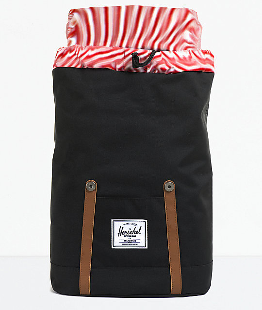 Herschel Supply Co. Retreat Black Backpack