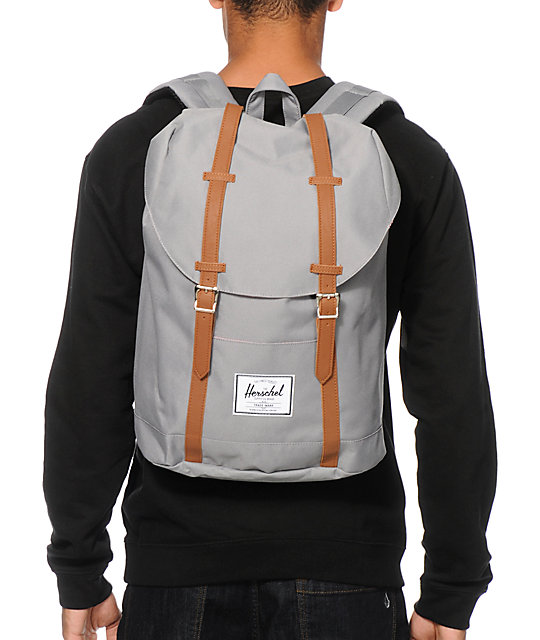 Herschel Supply Co. Retreat Grey Backpack