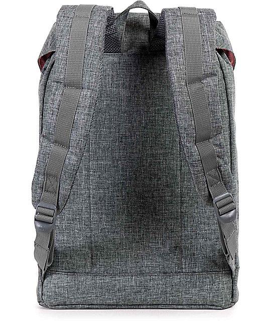 b10c83a8c093 Retreat Raven Crosshatch Black 19.5L Backpack  Herschel Supply Co. Retreat  Raven Crosshatch Black 19.5L Backpack ...