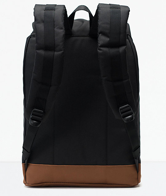 Herschel Supply Co. Retreat mochila negra y marrón