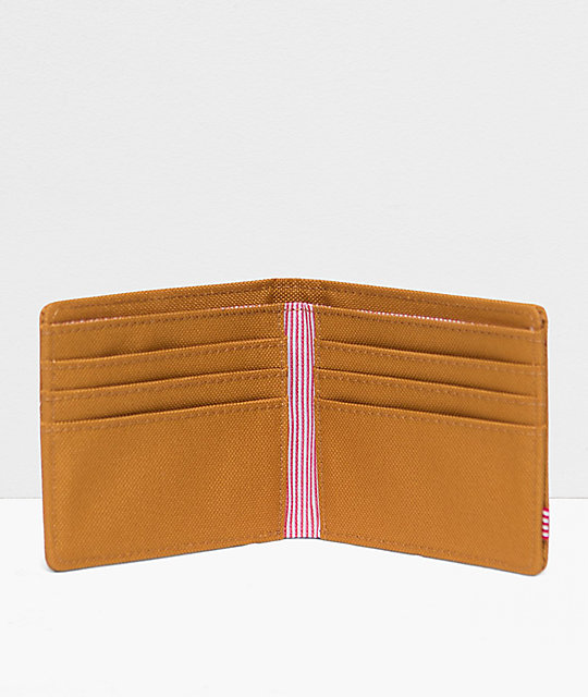 Herschel Supply Co. Roy Buckthorn Brown Bifold Wallet