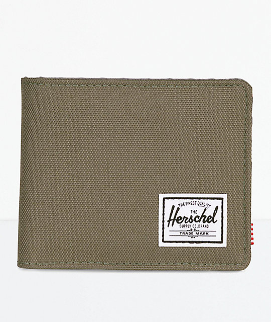 31130dc92c Herschel Supply Co. Roy Ivy Green   Smoked Pearl Bifold Wallet ...