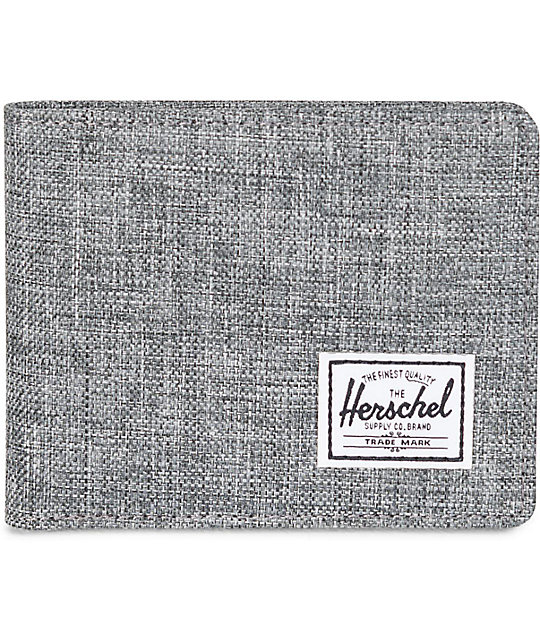 Herschel Supply Co. Roy Raven Crosshatch Bifold Wallet