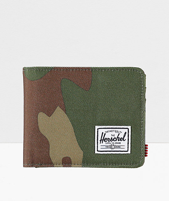 Herschel Supply Co. Roy Woodland Camo Bifold Wallet