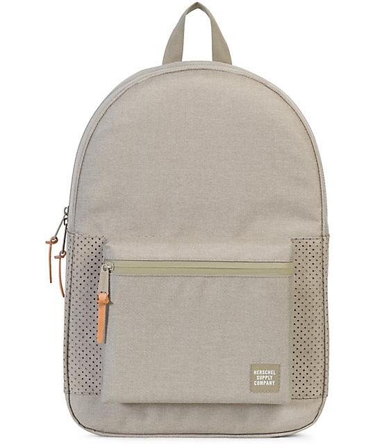 9f635c79ec Herschel Supply Co. Settlement Aspect Dark Khaki Crosshatch 23L Backpack
