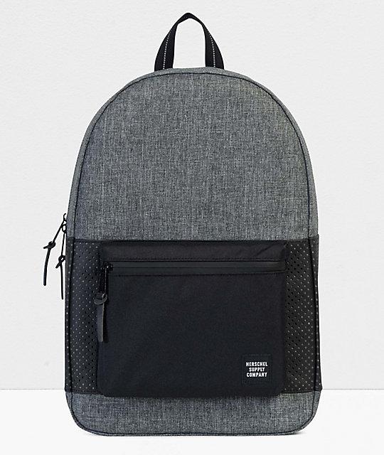 70d6e1e290 Herschel Supply Co. Settlement Aspect Raven Crosshatch Backpack