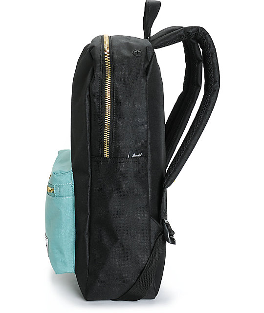 629536e323a Settlement Black   Seafoam 17L Backpack  Herschel Supply Co. Settlement  Black   Seafoam 17L Backpack ...