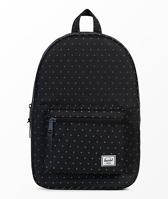 Herschel Supply Co. Settlement Black Gridlock 23L mochila