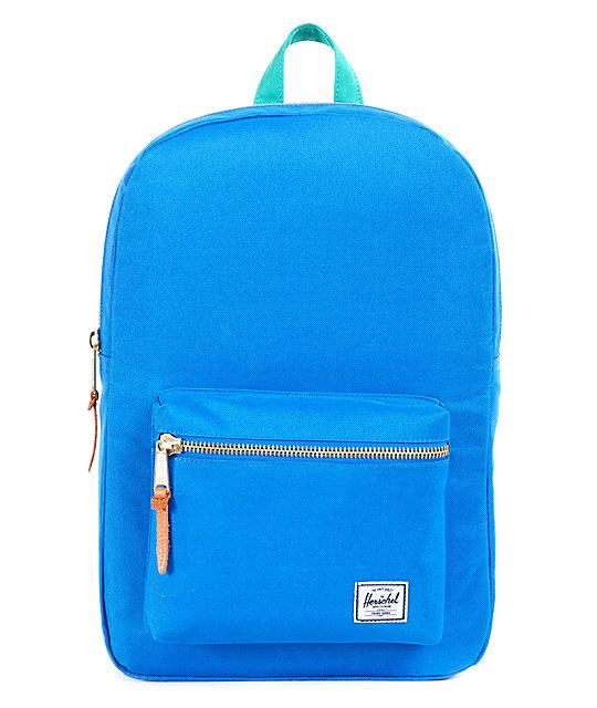 ecd2f03875c3 Herschel Supply Co. Settlement Blue   Green 11L Mid-Volume Backpack ...