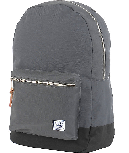 Herschel Supply Co. Settlement Charcoal & Black Backpack