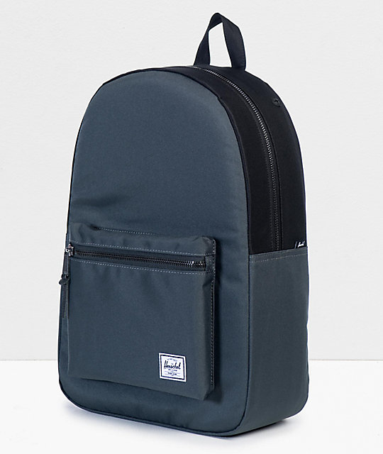 Herschel Supply Co. Settlement Dark Shadow & Black Backpack