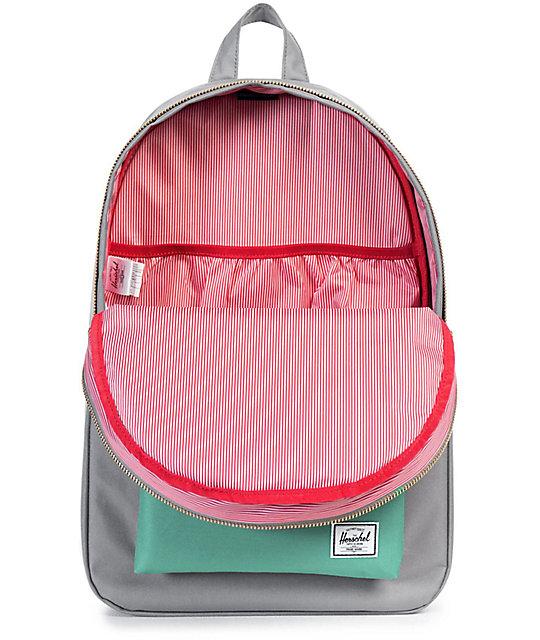 Settlement Grey   Seafoam 17L Backpack  Herschel Supply Co. Settlement Grey    Seafoam 17L Backpack 5f8290422ec3f