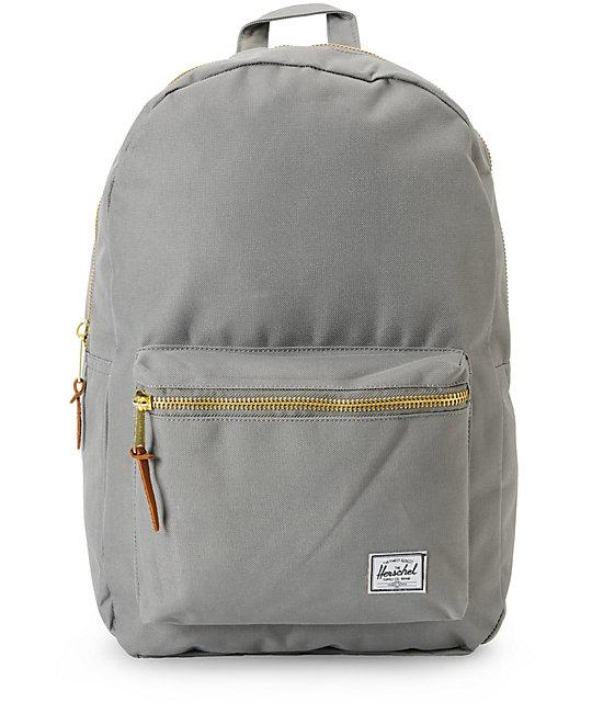 77e88302e4f Herschel Supply Co Settlement Grey 23l Backpack Zumiez Ca