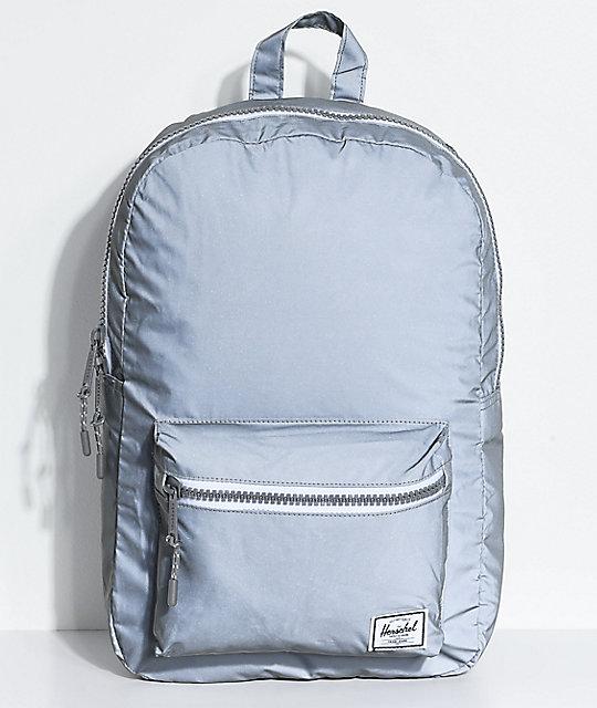 b6f98902846 Herschel Supply Co. Settlement Grey Reflective 17L Backpack
