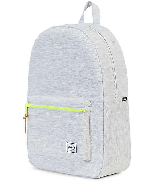 Settlement Light Grey Crosshatch 23L Backpack  Herschel Supply Co. Settlement  Light Grey Crosshatch 23L Backpack ... 4f72b25c4f523