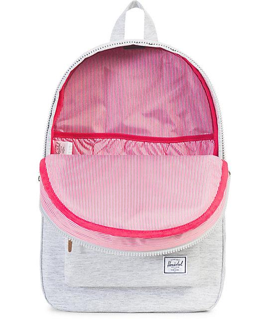 Settlement Light Grey Crosshatch 23L Backpack  Herschel Supply Co. Settlement  Light Grey Crosshatch 23L Backpack 752fa04c4f2f4