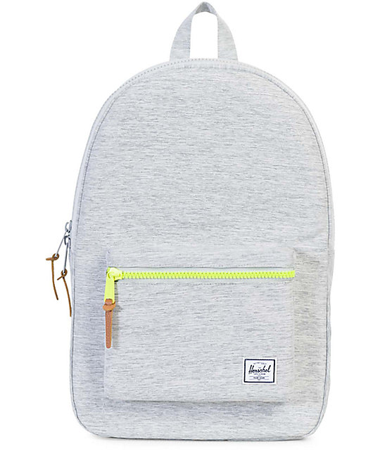 1e62dd5596b Herschel Supply Co. Settlement Light Grey Crosshatch 23L Backpack ...