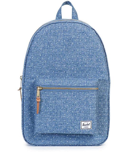 7ccbec3de971 Herschel Supply Co. Settlement Limoges Crosshatch Polka Dot 17L Backpack