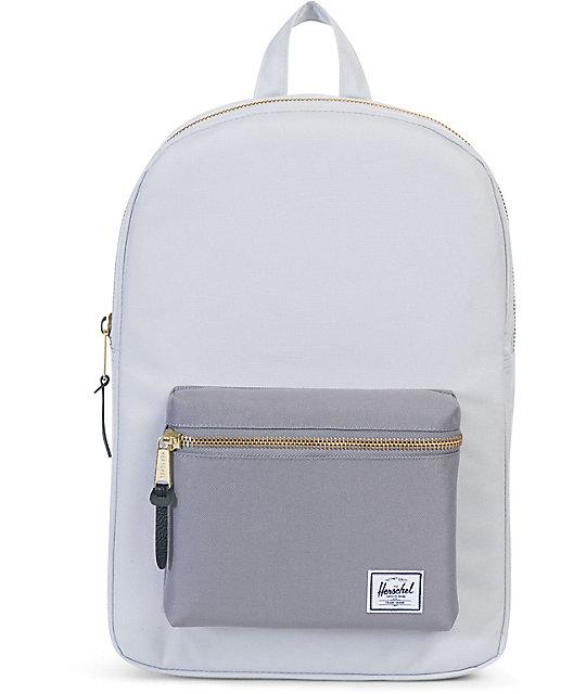 9392649c6c Herschel Supply Co. Settlement Lunar Grey Mid 17L Backpack