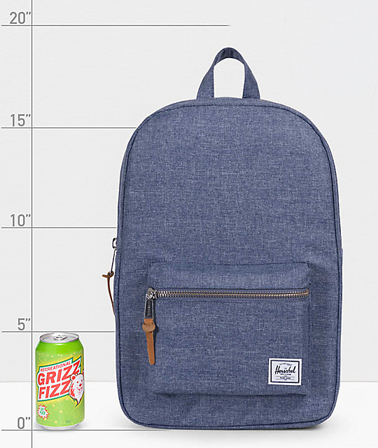 Herschel Supply Co. Settlement Mid Dark Chambray 17L Backpack