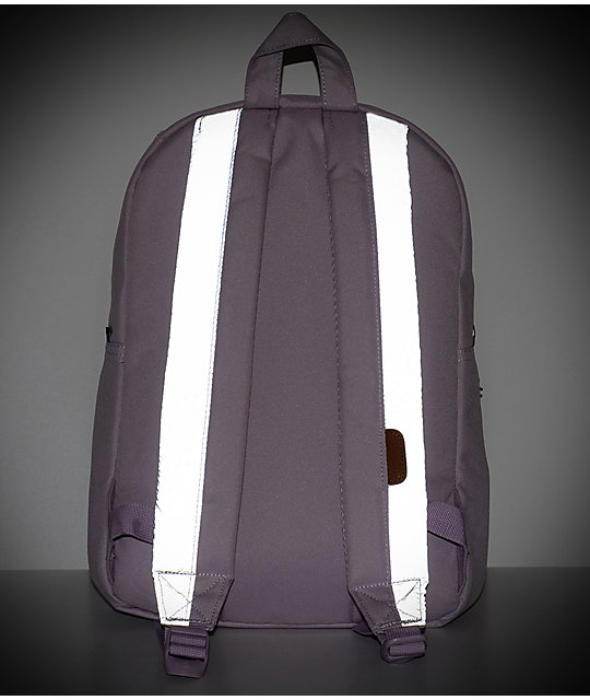 Herschel Supply Co. Settlement Mid Lavender 17L mochila reflectante en color lavanda