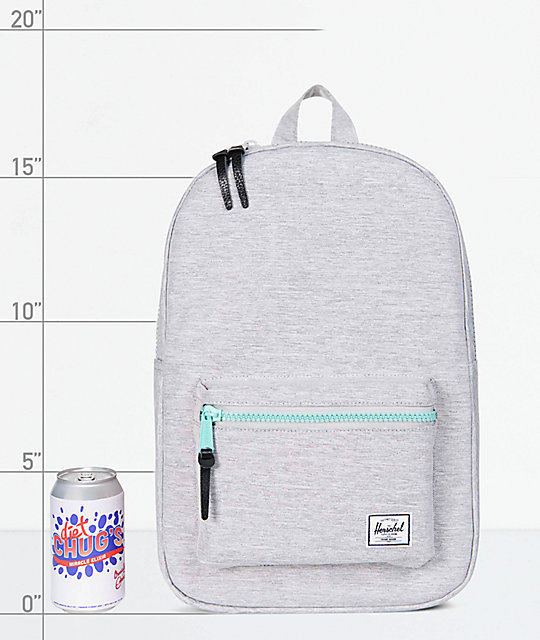 8b8237d64c Settlement Mid Light Grey 17L Backpack  Herschel Supply Co. Settlement Mid  Light Grey 17L Backpack