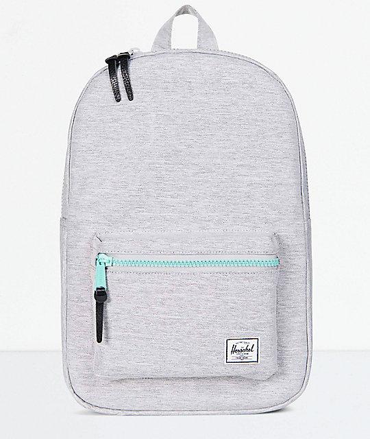 Herschel Supply Co. Settlement Mid Light Grey 17L Backpack  ab7091b2dd001
